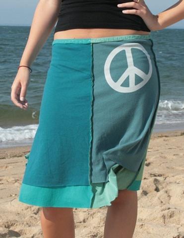 Tee shirt skirts