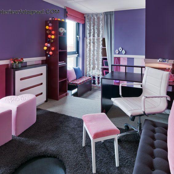 Make a wish icarly kamer hier zie je het buro met stoel een deel van de trampoline en de - Kamer originele kind ...