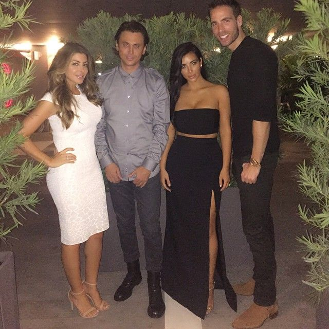 Scottie Pippen's Wife Larsa: Things You Should Know -- # Larsa and Kim Kardashian are BFFs