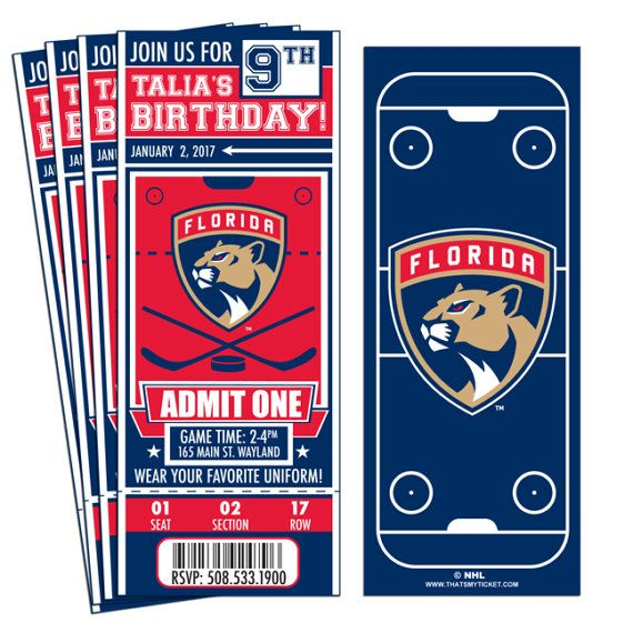 New York Rangers Kids Ticket Ages