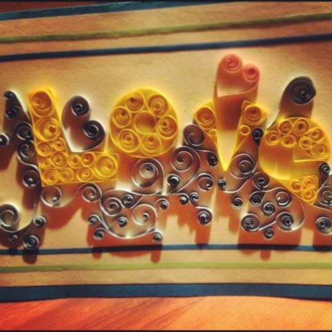 Quilling, Art and Expression  Art submitting multiple pieces together...