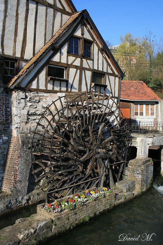 Le moulin de Pannevert - Water mill - Rouen - Upper Normandy dept. - Seine-Maritime région, France