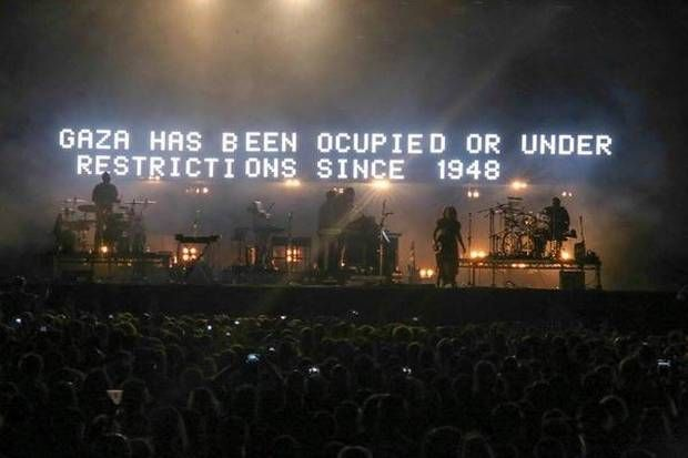 Massive Attack makes Gaza statement using headline stage at Longitude Festival - News - Music - The Independent