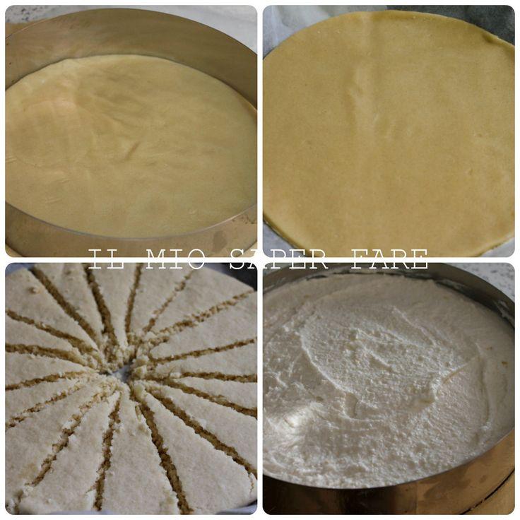 Crostata con crema di ricotta e limone  dolce estivo blog il mio saper fare