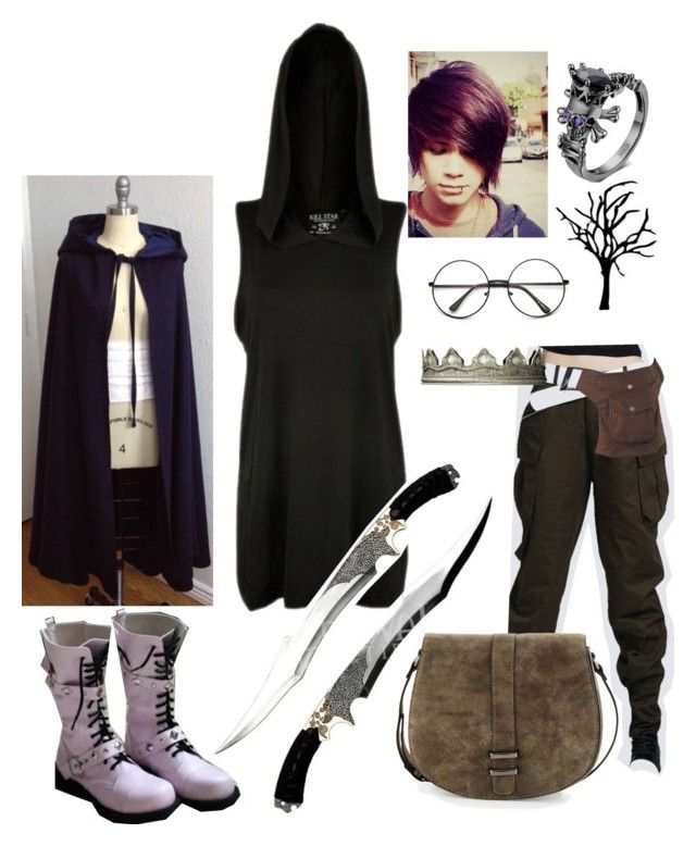 """Pirate king"" by zombiebrain0012 ❤ liked on Polyvore featuring Neiman Marcus"