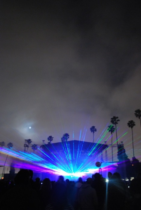 Flaming Lips. Hollywood Forever Cemetery.