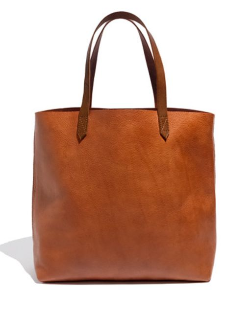 the perfect leather bag (Madewell)  via A BLOG ABOUT LOVE