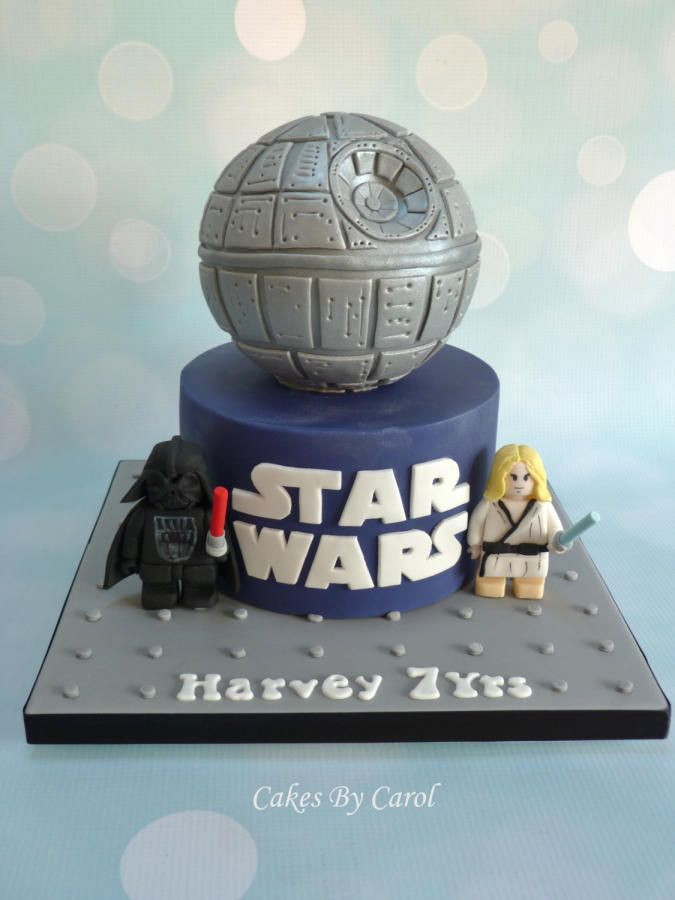 Lego Star Wars By Carol Cakes Cake Decorating Daily