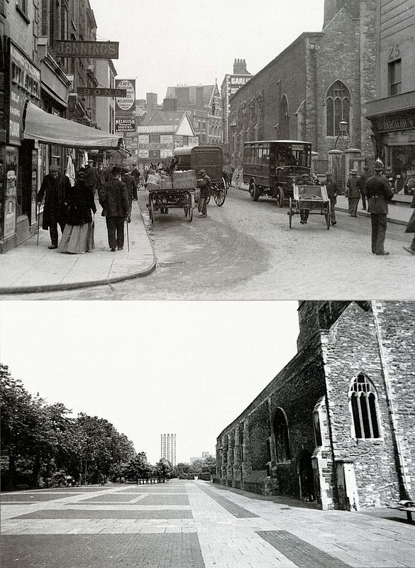 Bristol Then & Now Peter Street England Pinterest