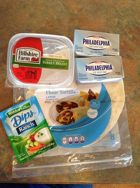 How to Make Turkey Ranch Pinwheels Recipe