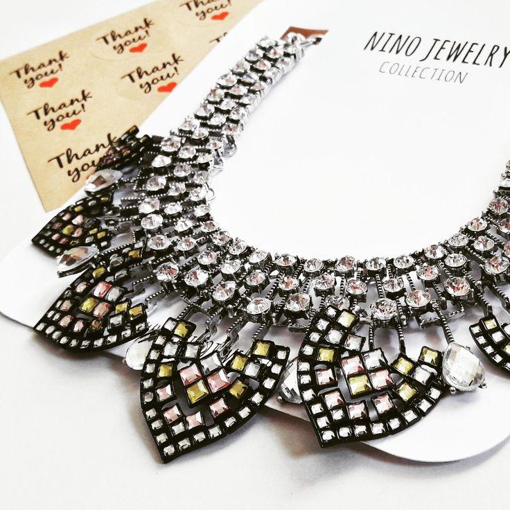 Ninojewelry, statement, necklace,    fashion,