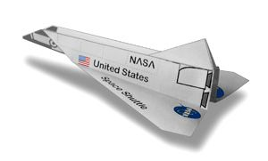 space shuttle paper patterns - photo #26