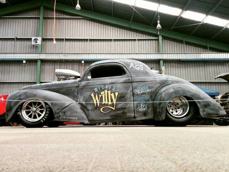 41 Willys Hot Rod Drag Car