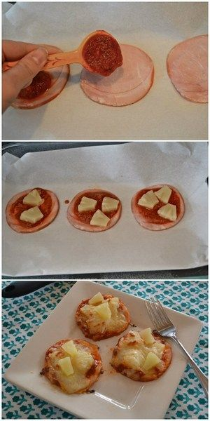 Low Carb Hawaiian Pizza | Bake a Bite