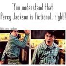 *swimming away from your LIES* also, funny that the fact Harry Potter is shown and not Percy Jackson...