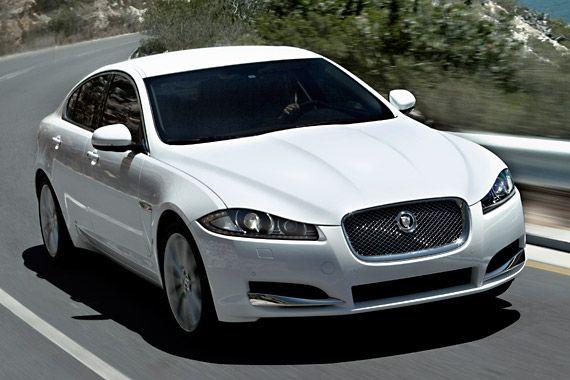 New Jaguar XF 2.2 video review