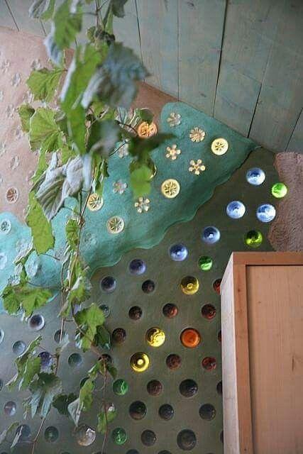 Recycling design flasche  38 besten muros de botellas Bilder auf Pinterest | Flaschenwand ...
