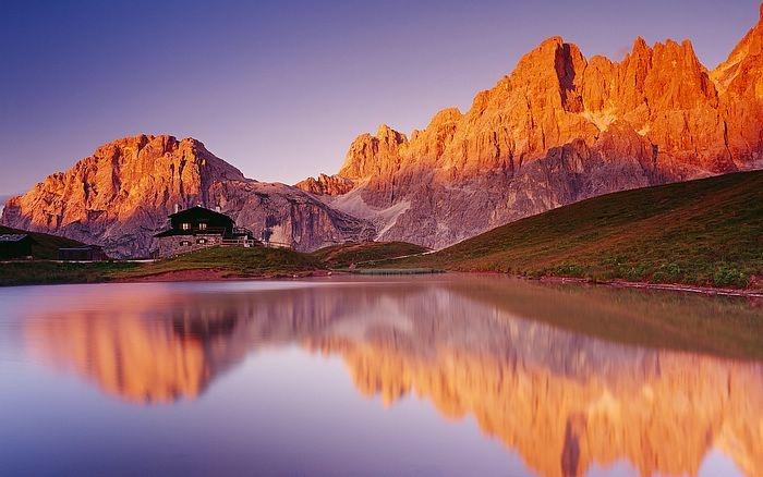 Paneveggio Natural Park in San Martino, Trento, Italy