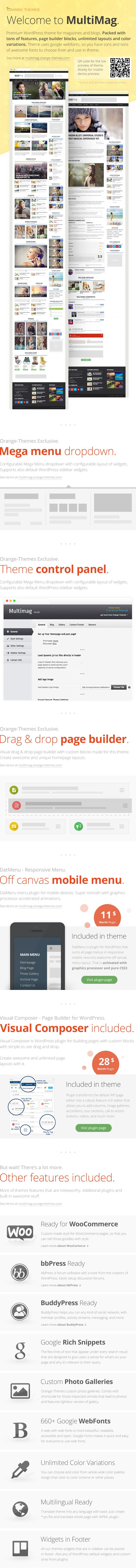 #WordPress #themeforest MultiMag - Multipurpose Magazine Theme  http://sumo.ly/4ytP