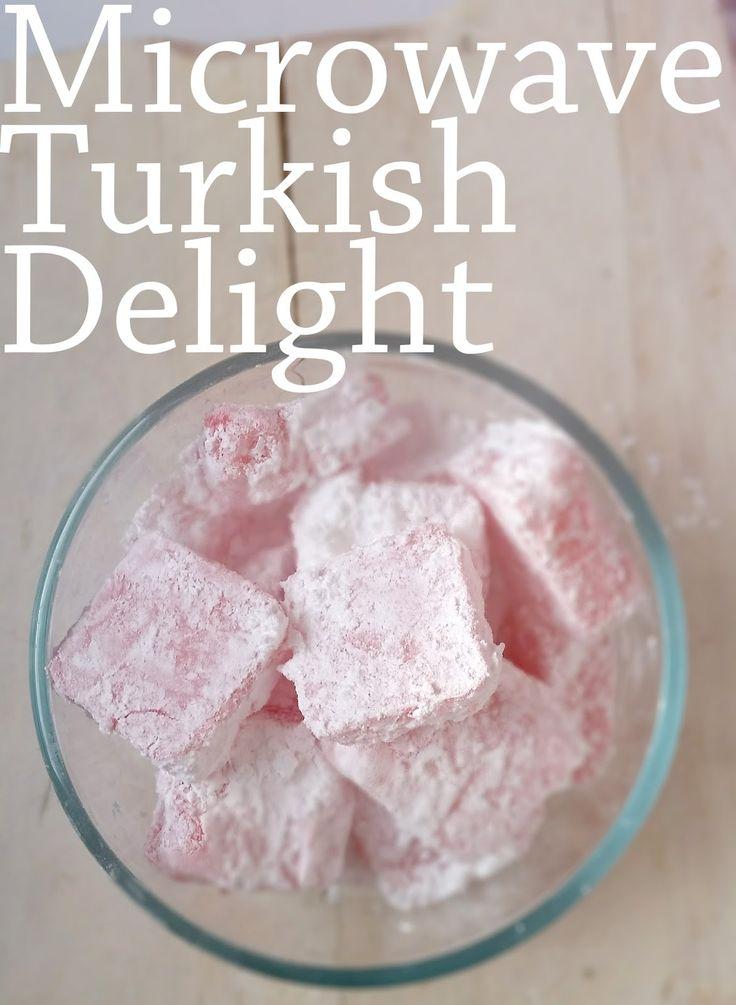 Amazing Microwaved Desserts: Turkish Delight