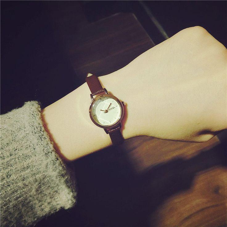 $5.59 (Buy here: https://alitems.com/g/1e8d114494ebda23ff8b16525dc3e8/?i=5&ulp=https%3A%2F%2Fwww.aliexpress.com%2Fitem%2F2016-new-vintage-watch-women-High-quality-leather-quartz-wristwatches-fashion-small-dial-ladies-dress-watches%2F32781637710.html ) 2016 new vintage watch women High quality leather quartz wristwatches fashion small dial ladies dress watches relogio feminino for just $5.59