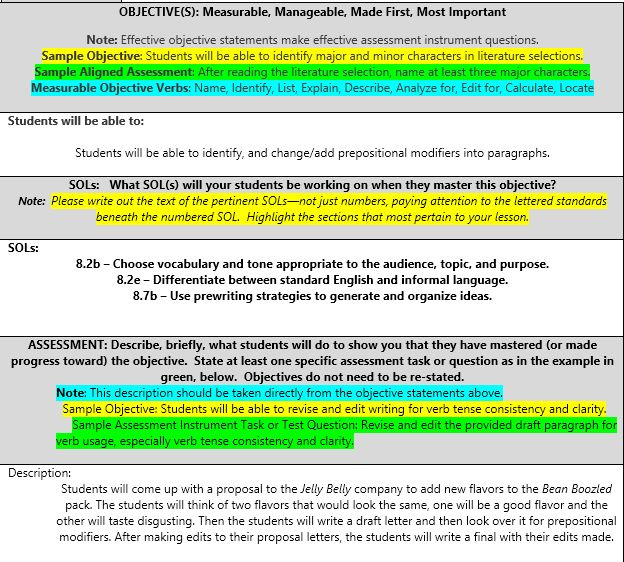 22 best English and Linguistics images on Pinterest English - subjective objective assessment planning note
