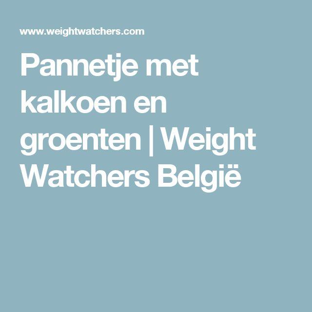 Pannetje met kalkoen en groenten | Weight Watchers België