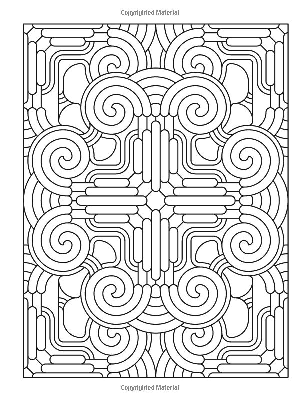 Creative Haven Mandala Madness Coloring Book (Creative Haven Coloring Books): John Wik, Creative Haven: 9780486781983: Amazon.com: Books