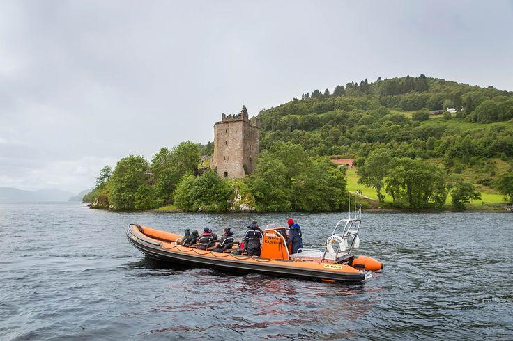 Loch Ness Family RIB Boat Thrill Rides | Cruise Loch Ness