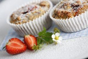 Recept -- ovesné Muffiny s jahodami - Emco spol. s.r.o.