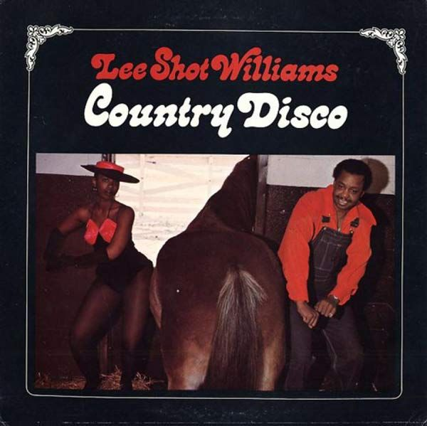20 of the Worst Bad Album Covers~ Lee Shot Williams Country Disco