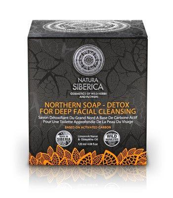Natura Siberica Detox sapun za dubinsko čišćenje lica 100 mL | Ljekarnik.hr