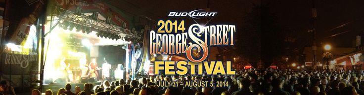 George Street Live » George Street Festival (July 31-Aug 5, 2014)