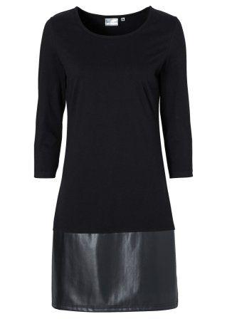 Şimdi inceleyin:Etek ucundaki deri detayı ile stil sahibi, küçük siyah elbise. Yuvarlak yakalı ve 7/8kolludur. İçeriğindeki streç materyali sayesinde üzerinizde mükemmel durur.
