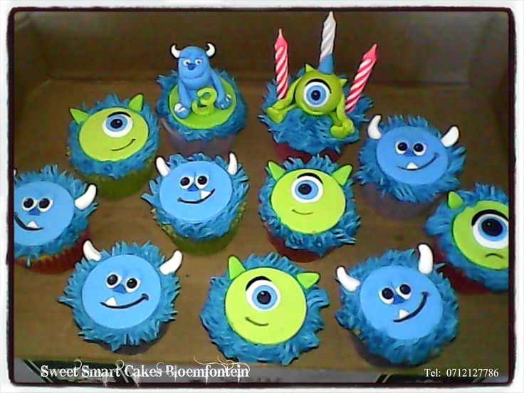17 Best Ideas About Sully Cupcakes On Pinterest Monsters