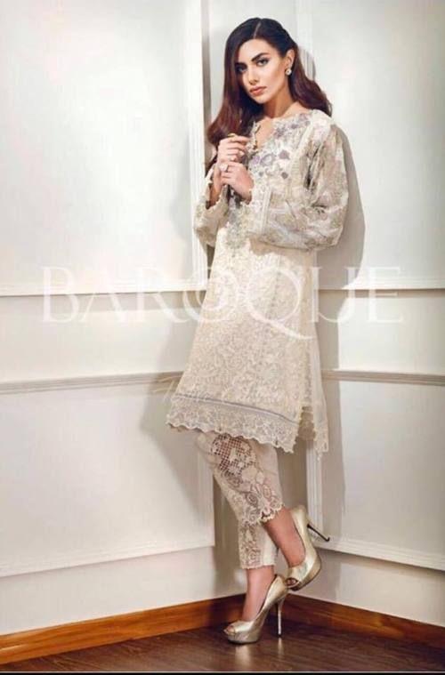 bc4b3c5dc7 Baroque Cotton Suit | Baroque in 2019 | Pakistani dresses, Dresses ...