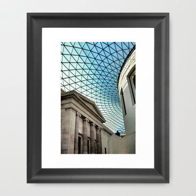 British Museum | London Framed Art Print by Jay W - $35.00