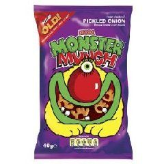 Monster Munch Pickled Onion Crisps - 48 Packets: Amazon.co.uk: Grocery