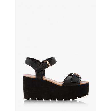 Sandały Revelation Platform Black Sandals
