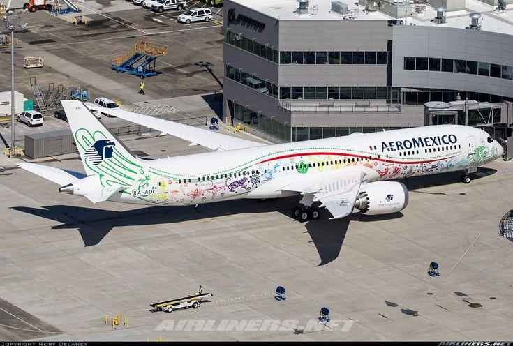 AeroMexico, Boeing 787-9 Dreamliner, Everett - Paine Field (PAE - KPAE) Washington, September 2, 2016 by Rory Delaney