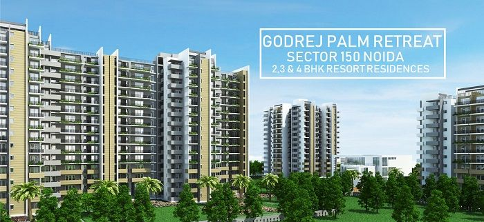Godrej Palm Retreat Is A Green Well Laid Out Resort Theme Project With A Superb Elevation Modern Amenities A Green Open Landscape And An Eye Retreat Noida