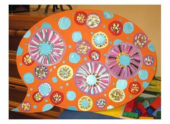 cool cut out summer pre school art class