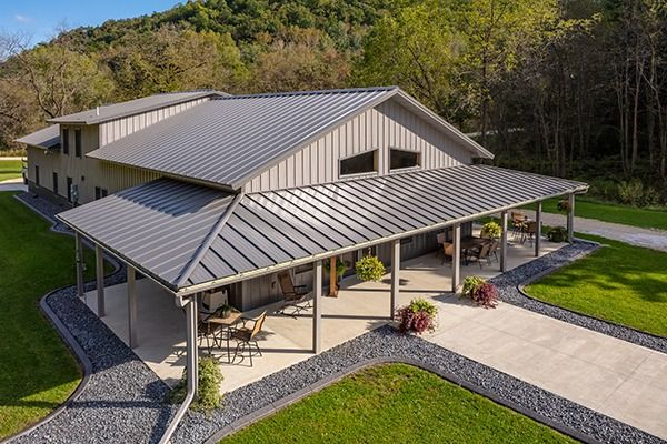 Best Lester Buildings Pole Barn Residence With Eclipse Metal 640 x 480