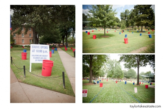"Taylor Takes a Taste - Ole Miss Grove ""rules"""