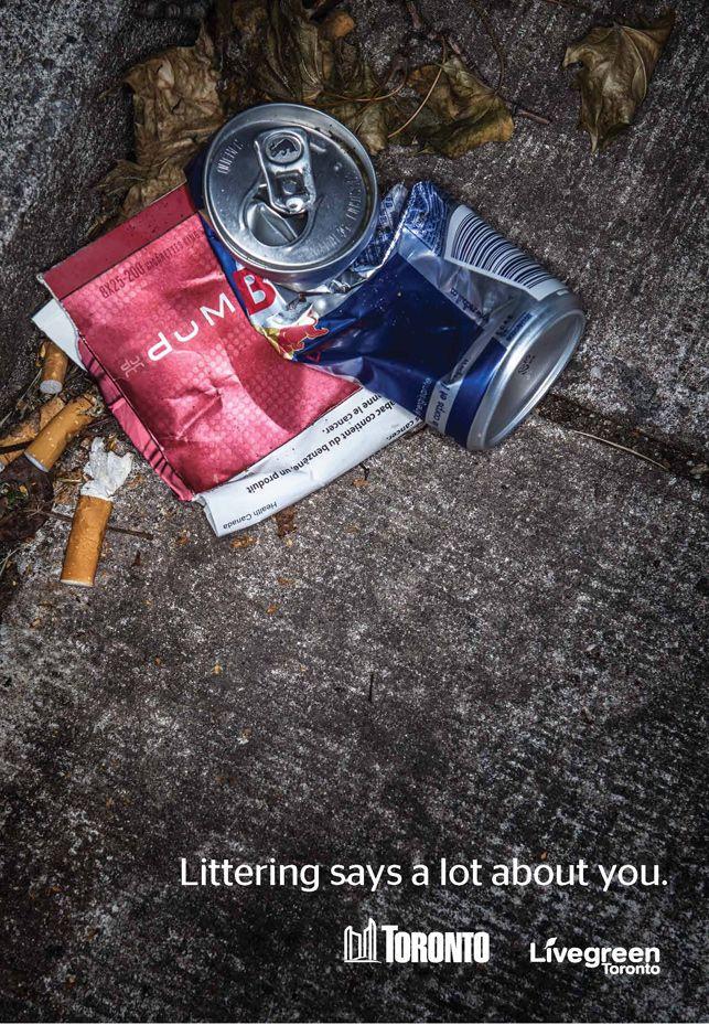 Yerlere attığınız çöpler hakkınızda çok şey söyler