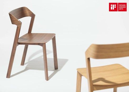 We are happy! Merano Chair and Barstool were awarded the German iF Design 2015 Award.