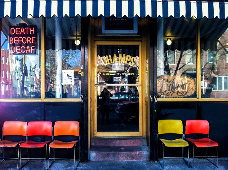 Vegan Travel: Brooklyn, NYC   CHAMP'S  176 Ainslie St, between Lorimer St & Manhattan Ave, Williamsburg- North Side, Brooklyn
