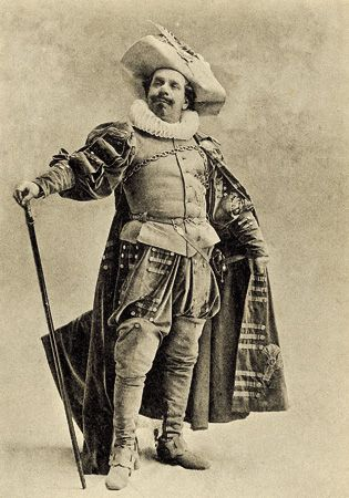Coquelin as Cyrano, by Nadar