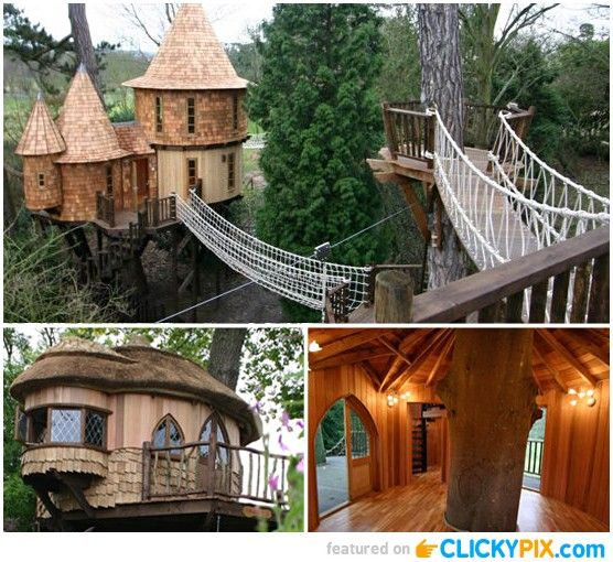 Best 20+ Awesome tree houses ideas on Pinterest | Tree houses ...