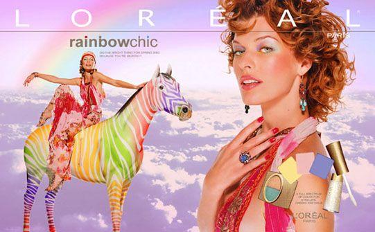 Рекламная кампания L'Oréal. Автор Дэвид Лашапель